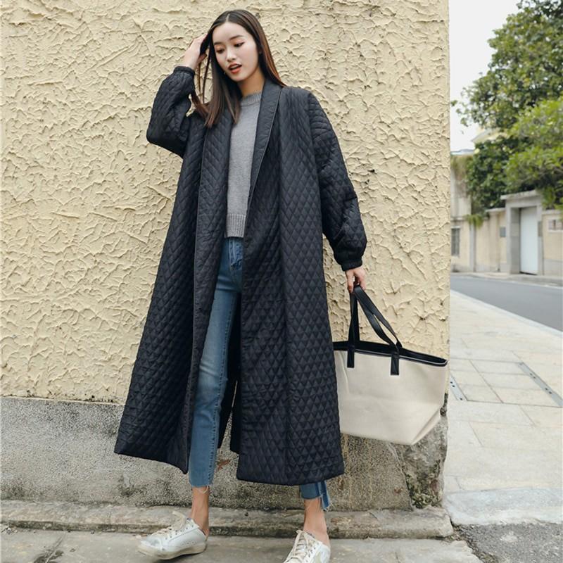 LANMREM nowa moda czarny Oversize klapy powrót Vent przycisk