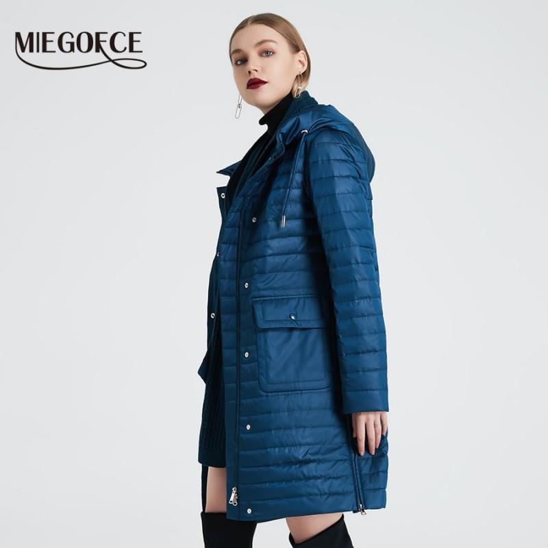 MIEGOFCE 2019 wiosna jesień kobiety płaszcz moda damska