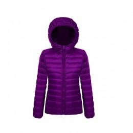 Plus rozmiar 5XL 6XL 7XL zimowe ocieplane kurtki kobiety pierzyna znosić zima ciepły płaszcz Ultralight biały kaczka płaszcz puc