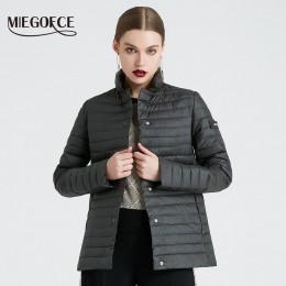 MIEGOFCE 2019 nowa kolekcja wiosna kurtki stylowa wiatroszczelna damska płaszcz z kapturem kobiet wiosna kurtka płaszcz kobiety