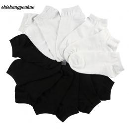 7 Pair Skarpety damskie Krótkie Kobiet Skarpetki Low Cut Dla Kobiet Panie Biały Czarny Skarpetki Krótkie Chaussette Sox