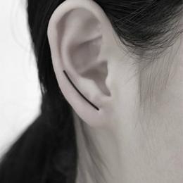 Hot Proste Kolczyki Moda Biżuteria Minimalistyczny Osobowości U Kolczyki Dla Kobiet Klip Na Kolczyki Ear Cuff Brincos Klip Preze