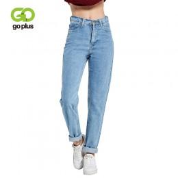 2019 Harem spodnie w stylu Vintage wysokiej talii dżinsy kobieta Boyfriends dżinsy damskie pełnej długości dżinsy dla mamy kowbo