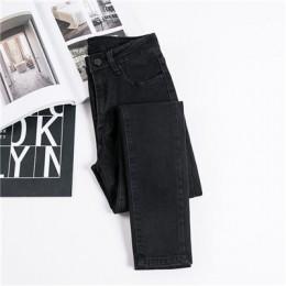JUJULAND  dżinsy kobiece spodnie jeansowe czarny kolor damskie dżinsy Donna Stretch spodnie i spódnice spodnie obcisłe dla kobie
