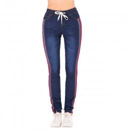 Kobiety duży rozmiar stretch plus luźne spodnie jeansowe elastyczne Plus szorty na co dzień przycięte kobiet dziewięć punktów Ca