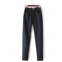 GCAROL Euro styl klasyczny kobiety wysoka talia Denim Jeans rocznika szczupła mama styl dżinsy rurki dżins wysokiej jakości spod