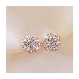 Stadniny Kolczyki dla Kobiet Kobieta 2017 Boucle d'oreille Kolczyki Kryształowe Złota Biżuteria Brincos Bijoux Mujer