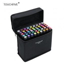 TouchFIVE 30/40/60/80/168 kolor Art markery zestaw Dual Headed artysta szkic tłustej alkoholu markery na bazie do animacji Manga