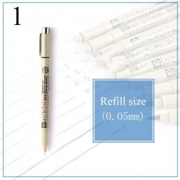 Markery na bazie wody rysunek liniowej pióro wielu rozmiar długopisy Fineliner dla Anime Comic szkicowania sztuka przybory papie