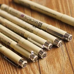 7 sztuk/zestaw Sakura Pigma Micron Pen igły pióro do rysowania wiele 005 01 02 03 04 05 08 Art markery