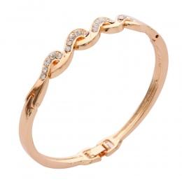 ZOSHI Luksusowe Rose Pozłacane Łańcuch Bransoletka dla Kobiet Ladies AAA Cubic Cyrkon Kryształ Biżuteria Hurtowych Bransoletki B