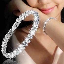 Charms bransoletka kryształ musujące shellhard pulseiras łańcuchy rhinestone cyrkon koraliki bransoletki bransoletki dla kobiet