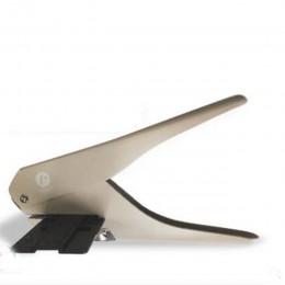 Kreatywny grzyb dziurkacz kształt dla szczęśliwy planner pierścień Disc DIY gilotyna do papieru typu T dziurkacz Craft maszyny b