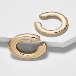 Czeski kryształowa nausznica kolczyk dla kobiet Multicolor w kształcie litery C nie przebili mały kolczyk ślubna dla nowożeńców