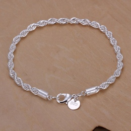 925 biżuteria posrebrzana bransoletka biżuteria bransoletka grzywny mody najwyższej jakości SMTH207 handel hurtowy i detaliczny