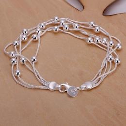 925 biżuteria posrebrzana bransoletka biżuteria bransoletka grzywny mody najwyższej jakości SMTH234 handel hurtowy i detaliczny