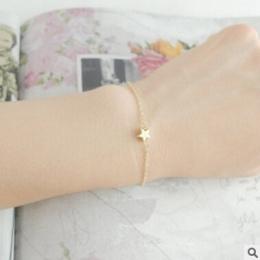 SL 024 Gwiazda bransoletka 2018 gorąca sprzedaż elegancki urok panie mody złota proste gwiazda bransoletka panie biżuteria preze