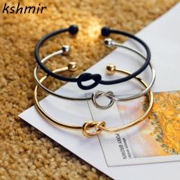 4-kolor oryginalny design czysta miedź odlewania miłość węzeł otwórz metal bransoletka bransoletka miłość bransoletka Wykwintne