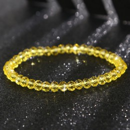 Charms bransoletki 1PC kryształowe zroszony bransoletki dla kobieta słodki Temperament Handwork bransoletki i Bangles piękna biż