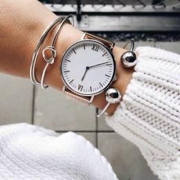 3 sztuk/zestaw czechy w stylu Vintage bransoletka srebrny Knot Ball otwarty srebrny bransoletka dla kobiet Party akcesoria ślubn