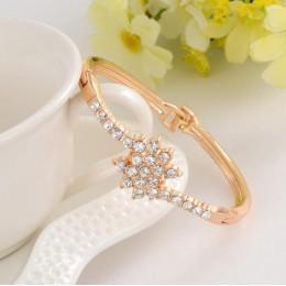 Delikatne wysokiej jakości stworzył kryształ dekoracji bransoletka piękna kobiety akcesoria z błyszczącymi syntetyczne Rhineston