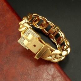 UKMOC klasyczny dżetów metalowe bransoletki dla kobiet oświadczenie Alloy mankiet Bangle biżuteria Party akcesoria mody