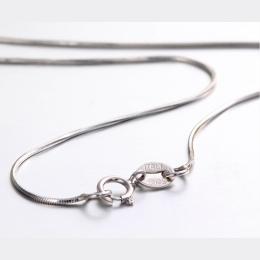 """14 """"-32"""" Cienkie Szczupła Prawdziwe 925 Sterling Silver Octagon Węża Łańcuchy Naszyjnik Dla Kobiet Dla Dzieci Dziewczyny Biżuter"""