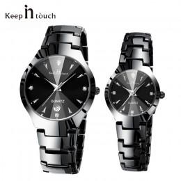 Top marka luksusowe kochanka zegarek Pair wodoodporna mężczyźni kobiety pary zegarki kwarcowe zegarek na rękę mężczyzna kobiet b