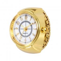 Miłośnicy oglądania projektowania mody para pierścień zegarek sukienka zegarek na co dzień stali nierdzewnej kreatywny zegarki k