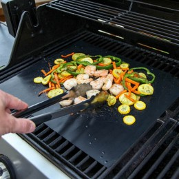 Pokrywa grilla Mat Pad arkusz gorąca płyta przenośne łatwe do czyszczenia non-stick grill Gill akcesoria do pieczenia Churrasco