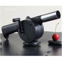 1 PC nowy grill wentylator wentylator ręczny łukowaty piknik na świeżym powietrzu Camping BBQ grill narzędzie wentylator/dmuchaw