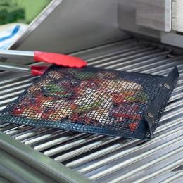 Nowy gorący trzymać siatki grillowania torba na zewnątrz piknik narzędzie Bolsa De Barbacoa nadaje się do wielokrotnego użytku i
