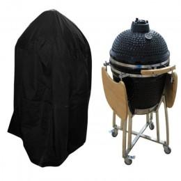 Czarny wodoodporny pokrywy grilla Heavy Duty akcesoria do grillowania osłona grilla deszcz Barbacoa Anti kurz deszcz gazu węgiel