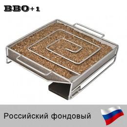 Generator zimnego dymu akcesoria do stali nierdzewnej Grill narzędzie do gotowania palacz łososia bekonowa ryba Mini Apple Chip