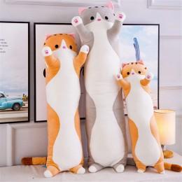 Śliczne pluszowe lalka kot miękkie nadziewane kotek poduszka lalki zabawki prezent dla dzieci dziewczyny MYDING
