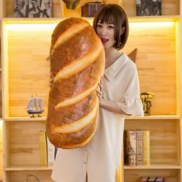 Słodkie nadziewane chleb dziewczyna towarzyszyć lalki chłopaka poduszka prezent miękkie imitujące chleb poduszka dla dzieci podu