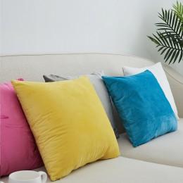 Nowy bardzo miękki aksamit sofa poszewka 40x40/45x45/50x50/55x55/ 60x60/65x65/70x70cm rzuć poszewka na poduszkę dekoracyjna posz