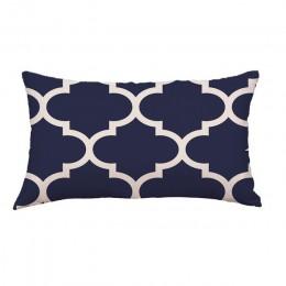 Gajjar poduszka bawełniana wymienny zmywalny geometryczne linie geometryczne festiwal poduszka na szyję 45x45 cm