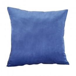 Niebieski rzut poszewka na poduszkę aksamitna poszewka do salonu Sofa 45*45 Kussenhoes poduszki dekoracji domu Housse De Coussin