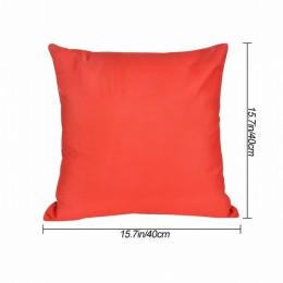 1pc relaks jednolity kolor bawełna dekoracyjna poszewka na poduszkę Sofa poszewka na rzut poduszki kolana dla dobre spanie 40x40