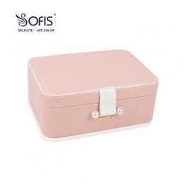 Dekoracje ślubne pudełko pudełko z Biżuterią biżuteria organizator SOFIS boże narodzenie biżuteria wyświetlacz Biżuteria Opakowa