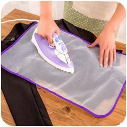 40x60cm prasowanie ochronne siatki torba do domu prasowania tkaniny straż ochrony delikatne odzieży ubrania kosz na bieliznę kos