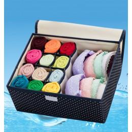 Wodoodporna tkanina oxford pojemnik do przechowywania bielizny zestaw do przechowywania w domu szuflady szafa organizatorzy zaos
