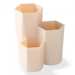 3 kraty dachowe do zatrzymywania kosmetyczne Make-up szczotki pudełko do przechowywania tabeli organizator makijaż paznokci pols