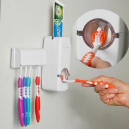 Automatyczne do wyciskania pasty do zębów stojak z uchwytem na ścianę wysokiej jakości tworzywa sztucznego szczoteczka do zębów