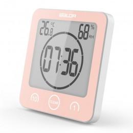 Zegar ścienny elektroniczny wodoodporny LCD cyfrowy wodoodporny do łazienki prysznic pomiar wilgotności