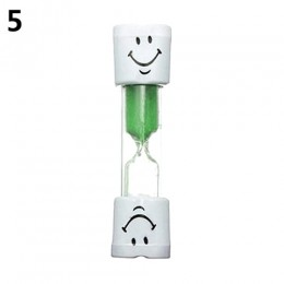 Dzieci Kid klepsydra zegar szczoteczki do zębów 2 minuty uśmiechnięta twarz na czas gotowania gry, szczotkowanie zębów piaski ze