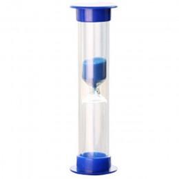 Piasek zegar, 5 kolor 2/3/5/10 minut Mini klepsydra klepsydra zegar z klepsydrą zegar do dekoracji domu (5 minut, niebieski)