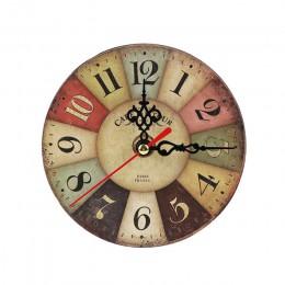11 style Antique Decor zegary ścienne dekoracja wnętrza domu zegar Shabby Chic zegar retro pokój akcesoria do dekoracji domu
