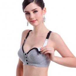 Kobiety w ciąży karmienie piersią Pielęgniarstwo biustonosze Ciążowe Bawełniane Biustonosz Vest Topy
